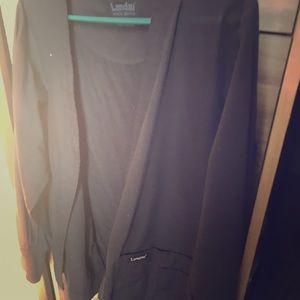 Scrub over coat/jacket